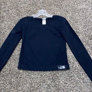 North face athletic long sleeve